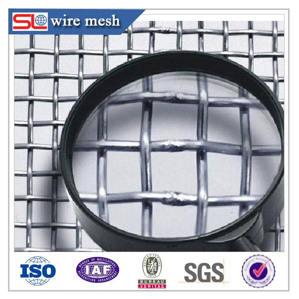 120 micron stainless steel mesh screen / stainless steel welded wire mesh