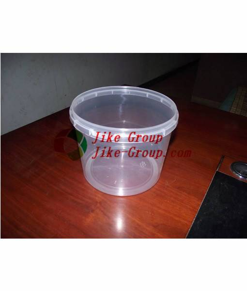 High Quality clear plastic paint bucket Clear plastic popcorn bucket/cookie plastic bucket/ Cheap pl
