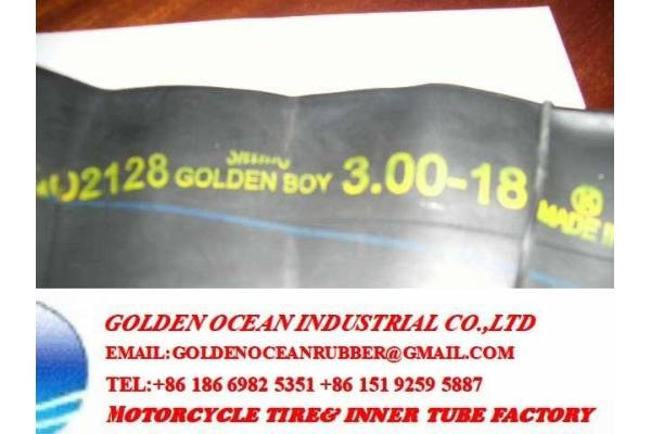Golden Boy inner tube 300-17 300-18 for Kenya Market