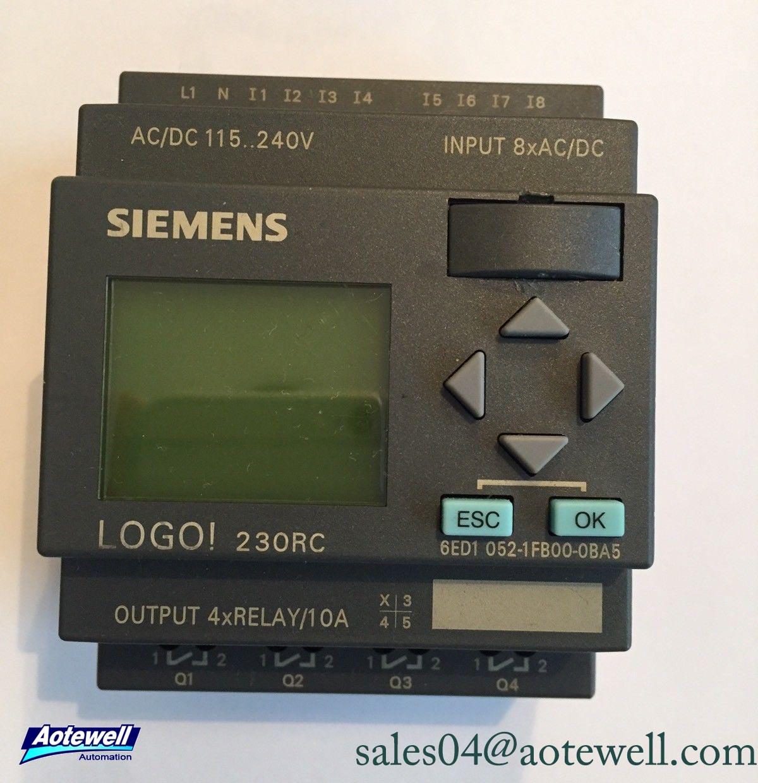 Siemens Logo 8 Plc Siemens Logo Plc 6ED Series