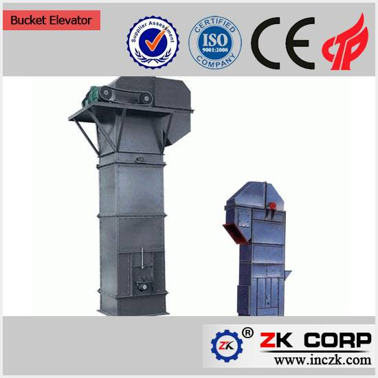 China supplier vertical grain bucket elevator for sale