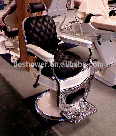 Doshower barber chair of salon hair equipment with antique furniture