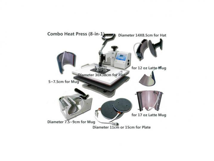 8-in-1 Combo Heat Press