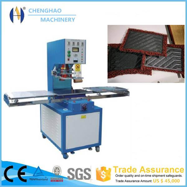 high frequency PVC Carpet, Car Mats Foot Pad HF PVC Embossing Machine