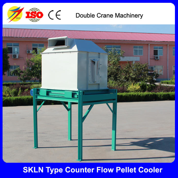 Poultry feed pellet counter flow cooler machine for sale with CE