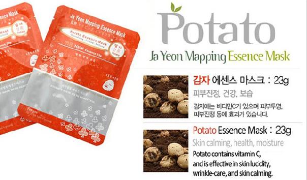 Potato Essence Mask 23g, Face Mask, Mask pack