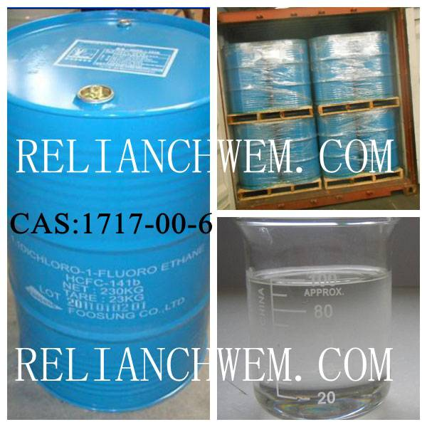 Plastic Foaming Agent/Cleaning Agent:Dichlorofluoroethane CAS:1717-00-6