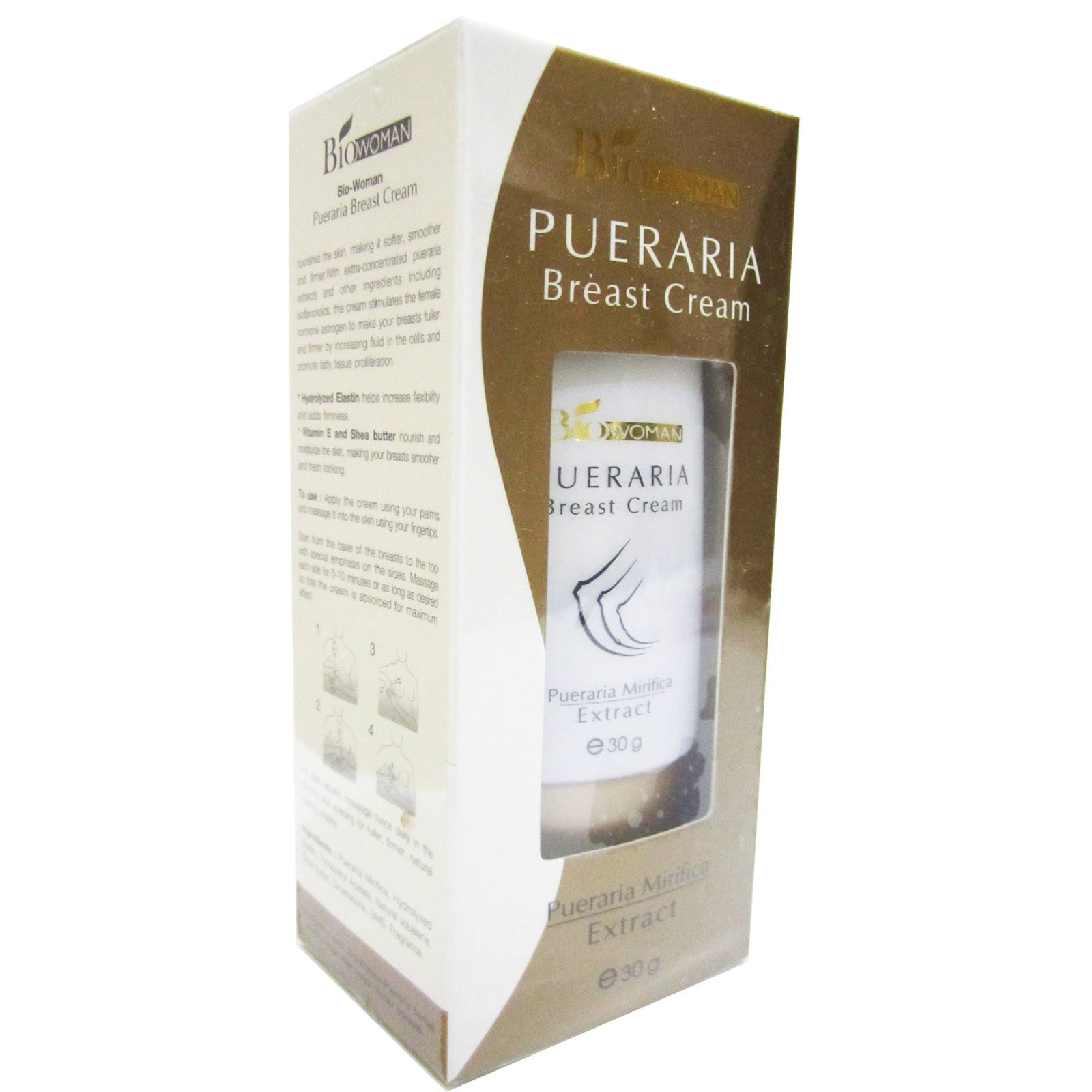 PUERARIA MIRIFICA BREAST ENLARGE BUST ENLARGEMENT CREAM 30g 100% Natural