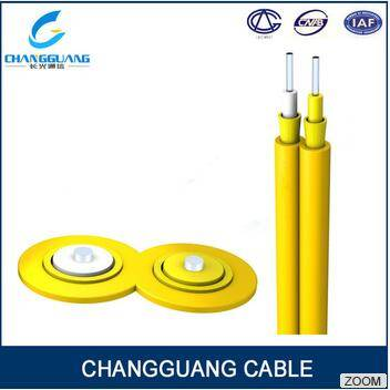 Gjfj8V Fiber Cable Duplex Flat Optic Fiber Cable From Manufacturer High Quality Factory Price Indoor