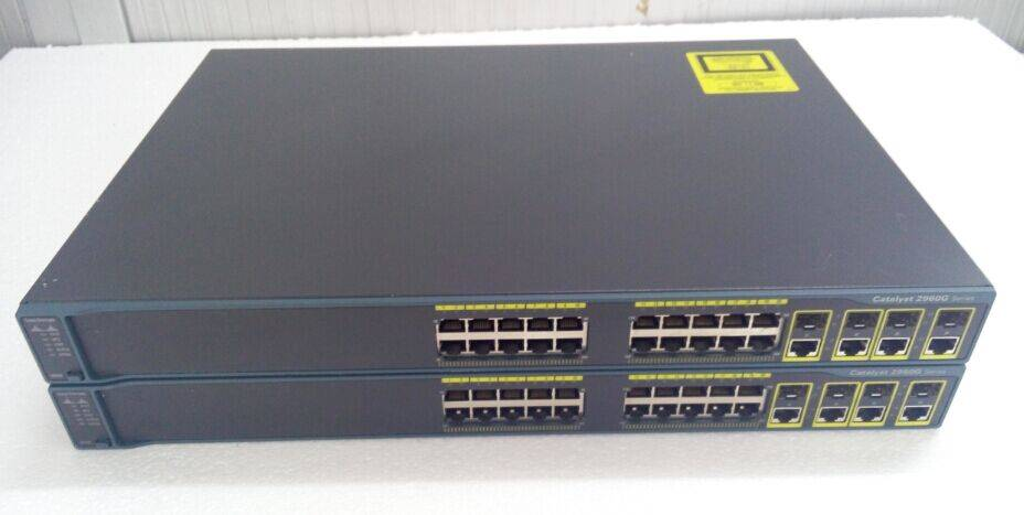 WS-C2960G-24TC-L  24 port 2960 Series Gigabit Cisco Switches