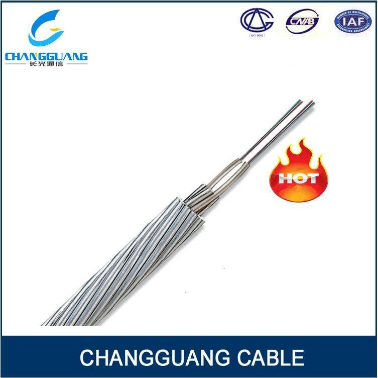 Oppc Fiber Cable Factory Price China Supplier Fiber Cable Optical Fiber Composition Phase Conductor