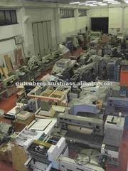 Heidelberg PM 74-4 Offset Used Paper Machine for Sale