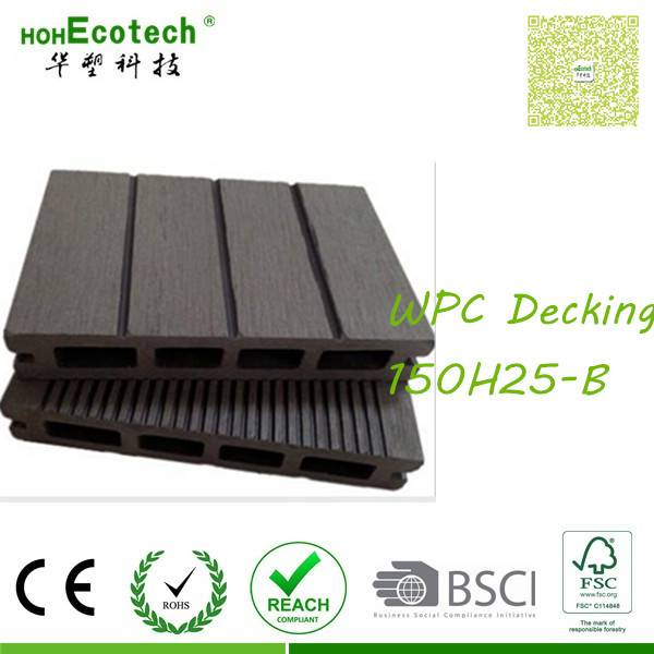stain resistant easy maintenance flooring outdoor building wpc