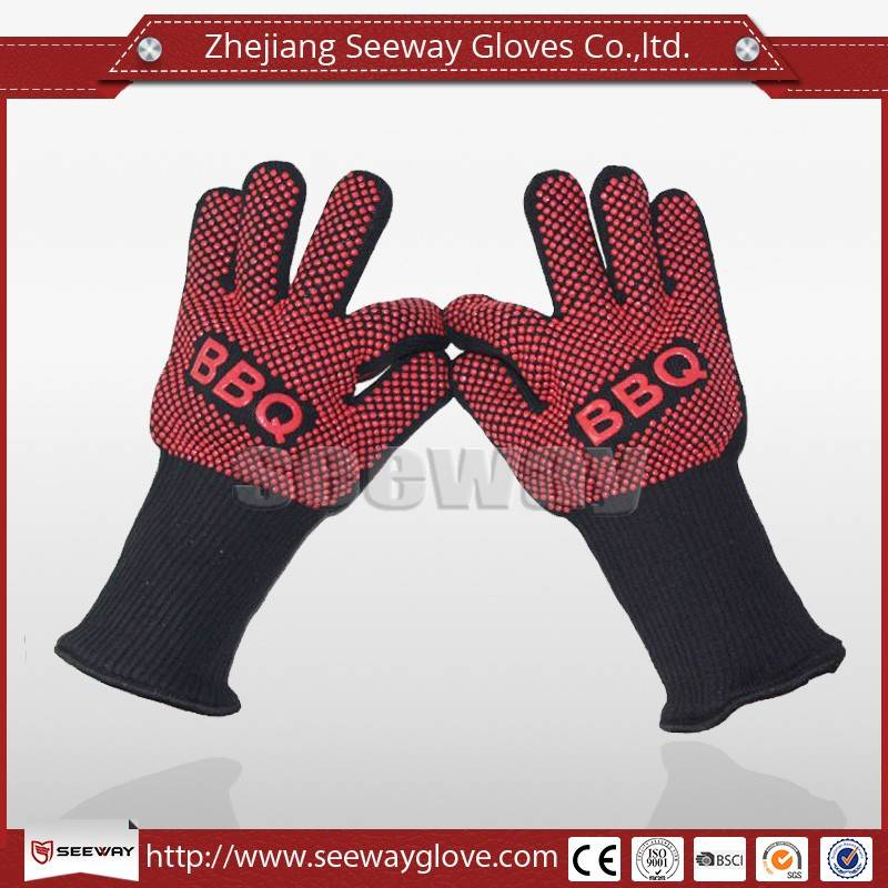 SeeWay F350 Silicone Baking Oven Grill Heat Resistant BBQ Glove