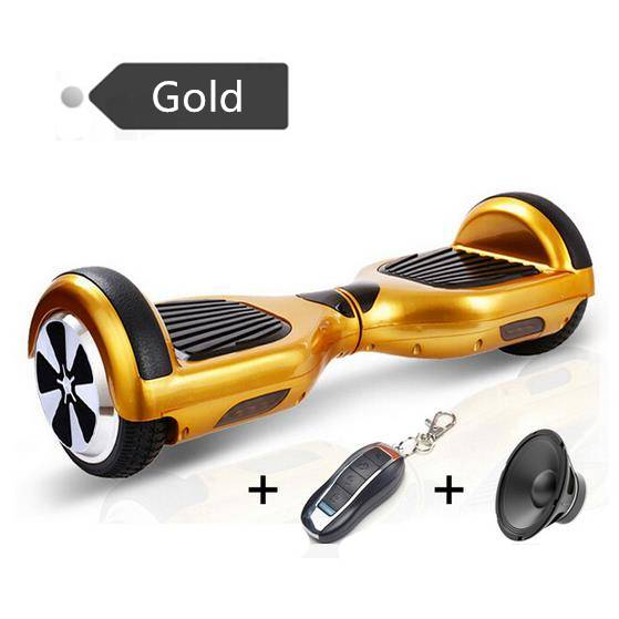 Christmas Gift Factory Wholesale 6.5 inch Electric Scooter Two Wheel Hoverboard Smart Balance Wheels