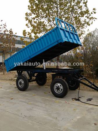 Customized farm dump trailer for sale