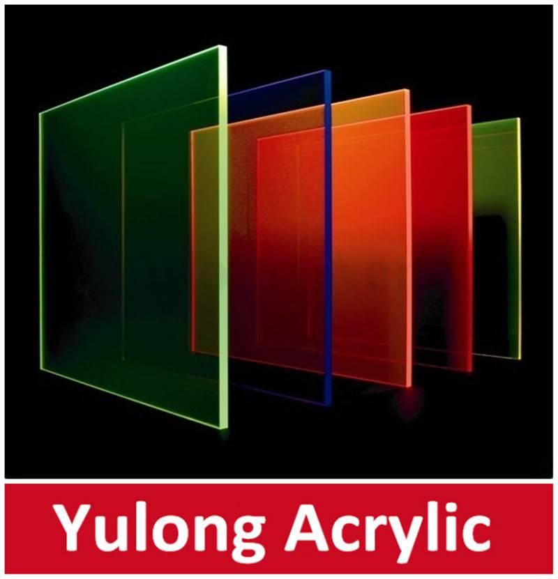 transparent color perspex plexiglass sheet 4ftx8ft