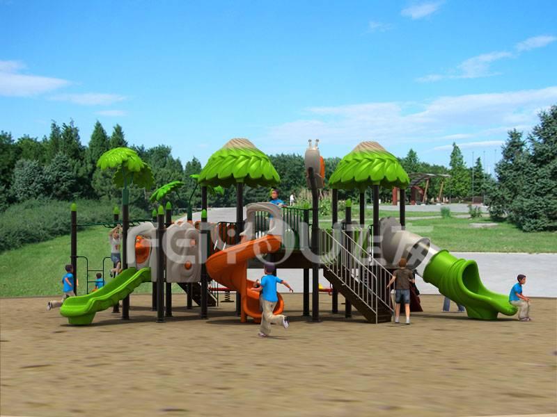 Cheapest Children outdoor playground slide equipment FY02401