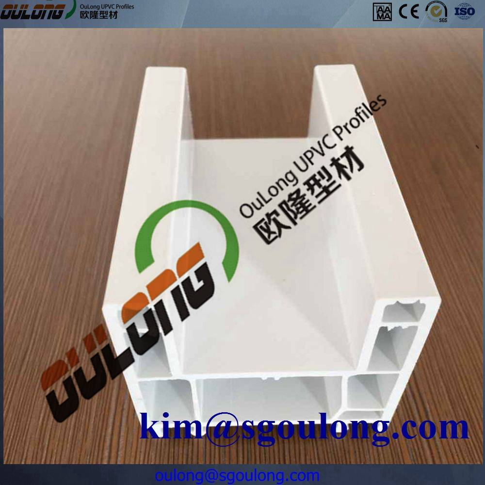 60mm/80mm/88mm Many series frame plastic profile from China supplier