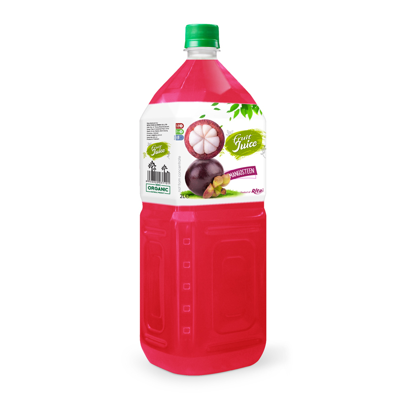 Fruit Juice Mangosteen 2L Pet | private label beverage manufacturers