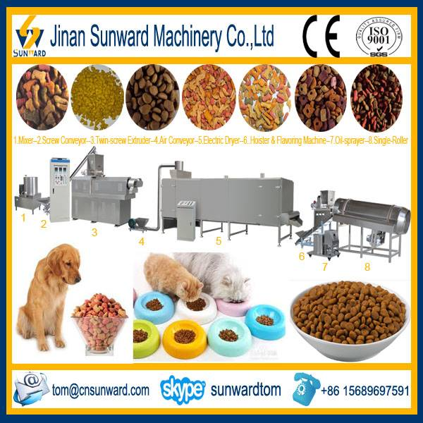 New Design Pet Food Pellet Making Machinery