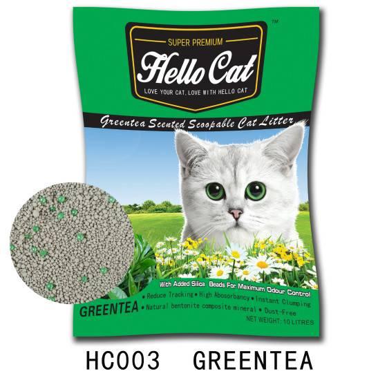 HC003   Greentea cat litter