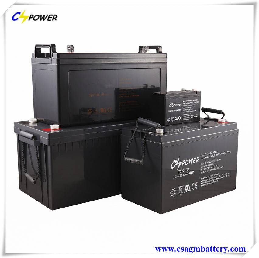 Manufacturer Deep Cycle Gel Battery 12V38ah with 3 Years Warranty