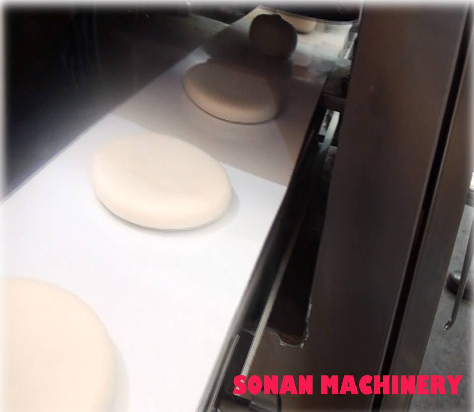 Electric puff pastry automatic machine