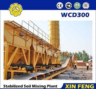 For commercial and municipal construction flagship product stabillized soil batching plant