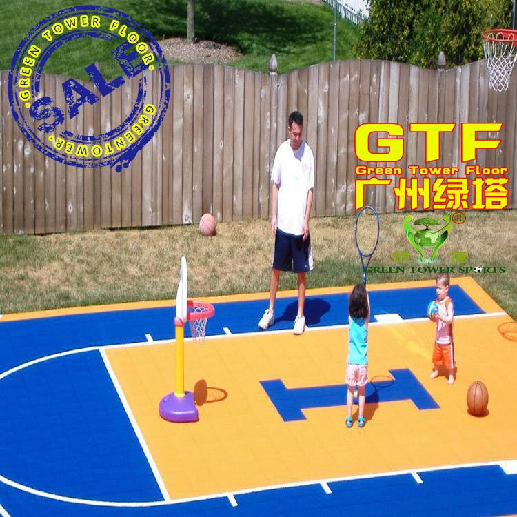 PP Interlocking Flooring for Kids Playground