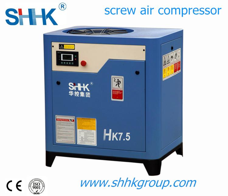 belt driven screw air compressor (1.0m3, 10bar, 7.5kw) hk7.5 10hp