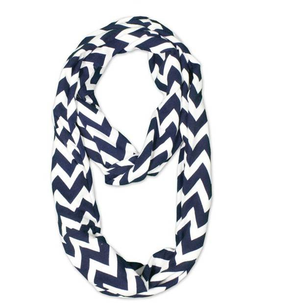 2014 Factory Price Fashion Chevron Infinity Scarf