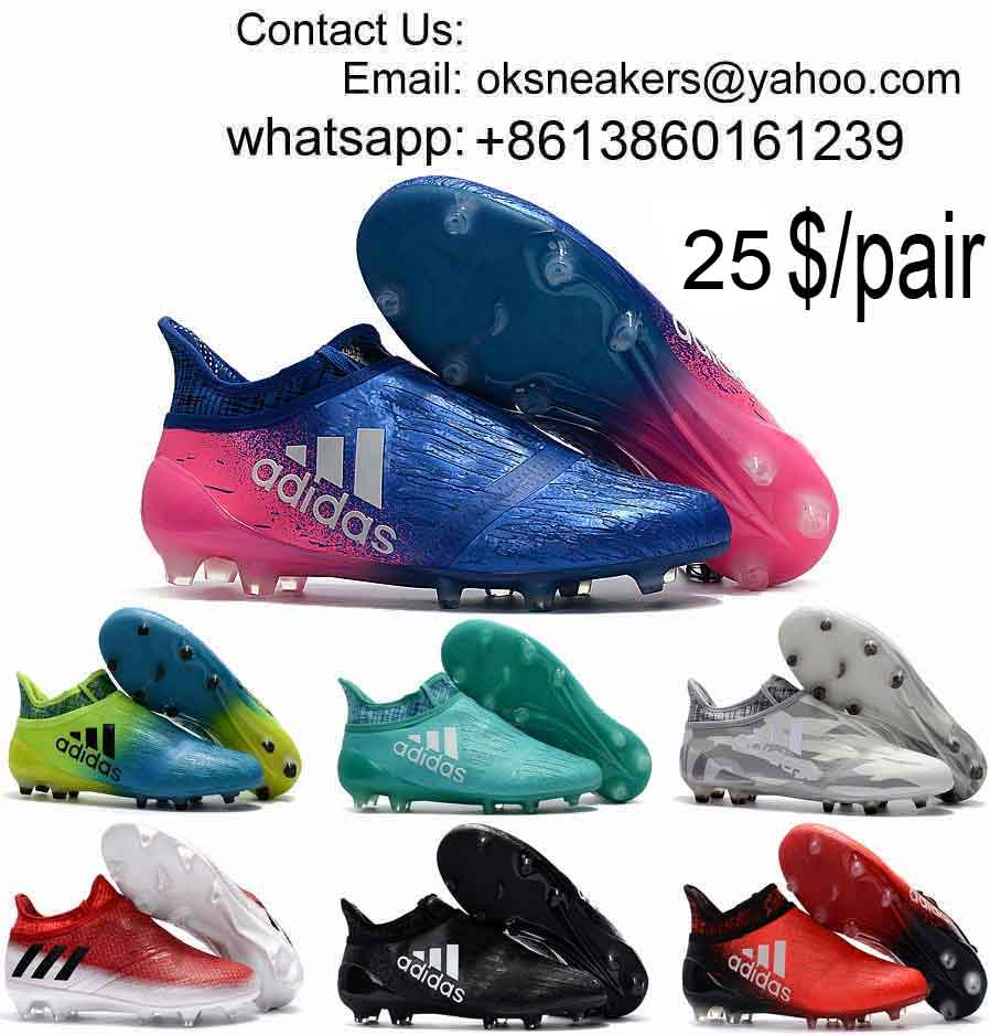 Wholesale Adidas Ace 17+ Purecontrol Soccer Shoes X 16+ Purechaos Football Boots Messi Soccer Cleats