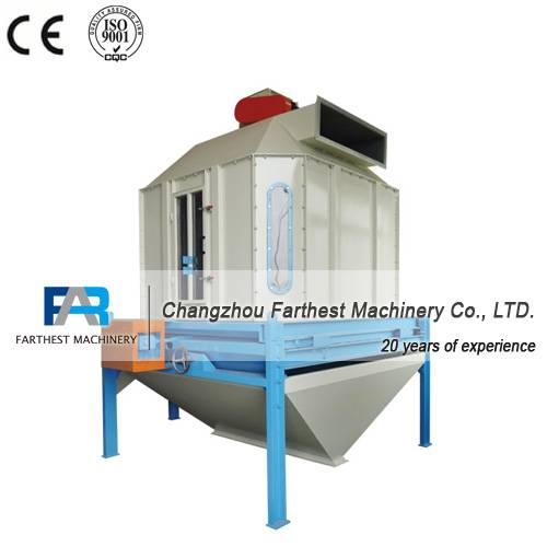 Energy-saving Counterflow Cooler for Animal Feed