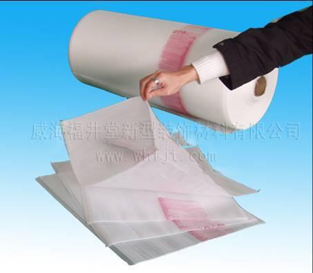 PO film -coated EPE foam bag