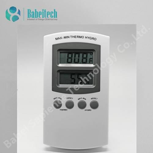 Indoor Industrial Thermometer with Hygrometer