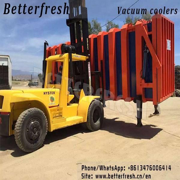 Manufacture Betterfresh Rocket Vacuum Cooler Pre cooling Tubes