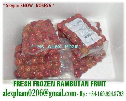 Fresh Frozen Rambutan/ Mango/