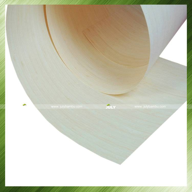 Bamboo veneer for natural vertical thickness 0.2MM bamboo wood sheets manufacture china supplier