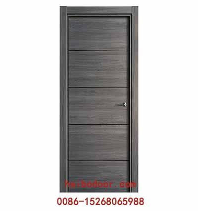 High quality wooden pvc interior pure color doors(MQ-010)