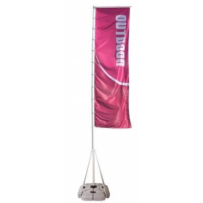 Wind Dancer, Outdoor Giant Flag Pole