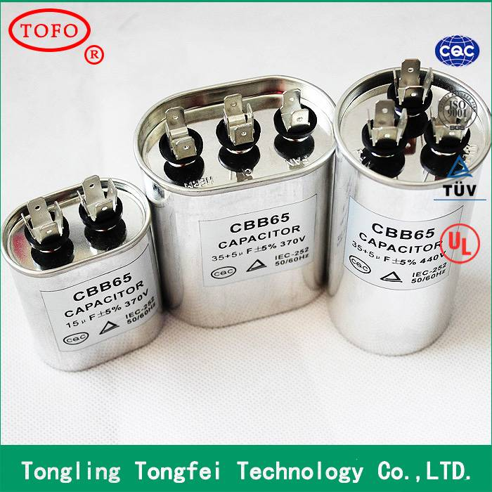 Hot Sale 120uf Capacitor CBB65 for Ice Box use