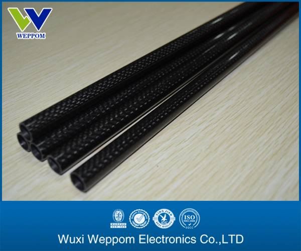 5mm-50mm high tensile carbon fiber tube 3k
