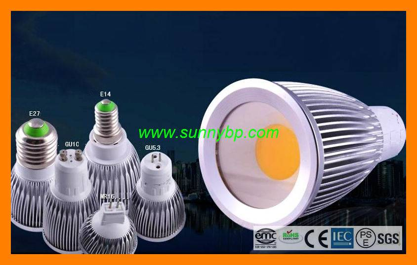 5W COB LED Spotlight (Replace 50W Philips Halogen)