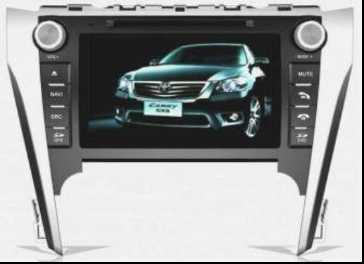 Toyota New Camry 2012(European version) Car DVD Radio