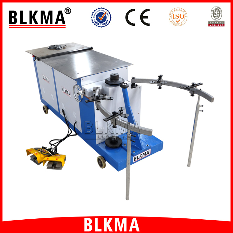 BLKMA stainless steel round elbow duct making machine