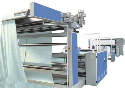 Compactor for Open Knitted Fabrics