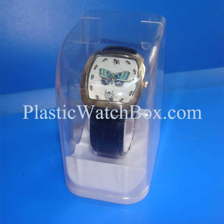 Custom Brand-name Clear Display Box for Watch Sale 004