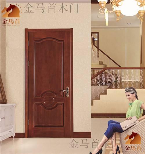 2015 hot sale customized solid wooden door