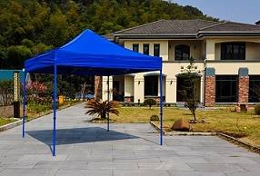 Chinese gazebo pop up tent Hexagonal Steel Frame Canopy